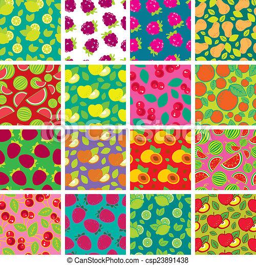 1eeb53f1304b60 Simple, motifs, seamless, coloré. Différent, ensemble, coloré ...
