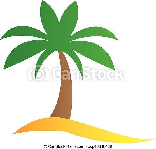 Simple palmier dessin anim palmier dessin anim - Dessin de palmier ...