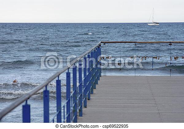 Simple pier detail - csp69522935