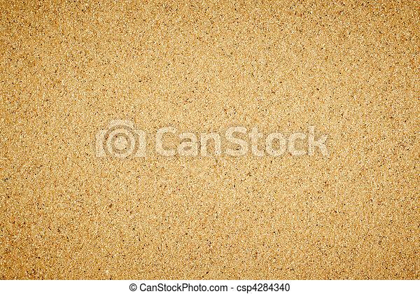 Simple textura de arena plana. - csp4284340