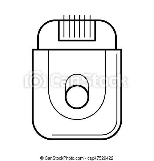 Simple Rasoir électrique Rasage