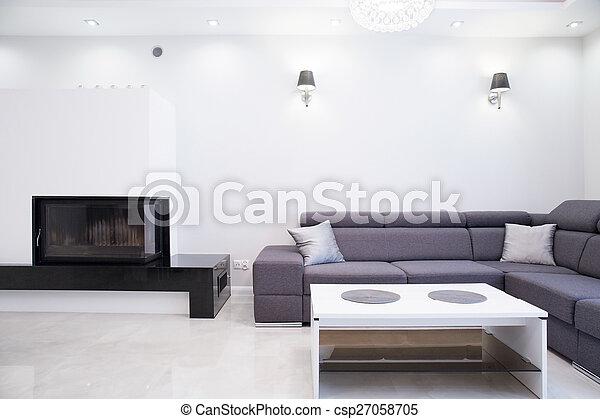 Un salón sencillo - csp27058705