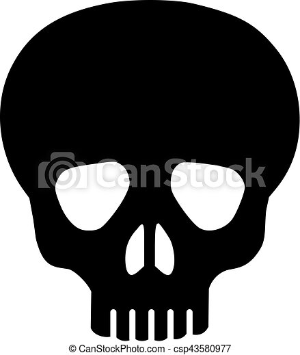 simple skull vector rh canstockphoto com simple vector editor simple vector drawing program