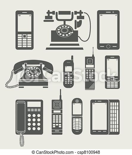 El teléfono es un simple icono - csp8100948