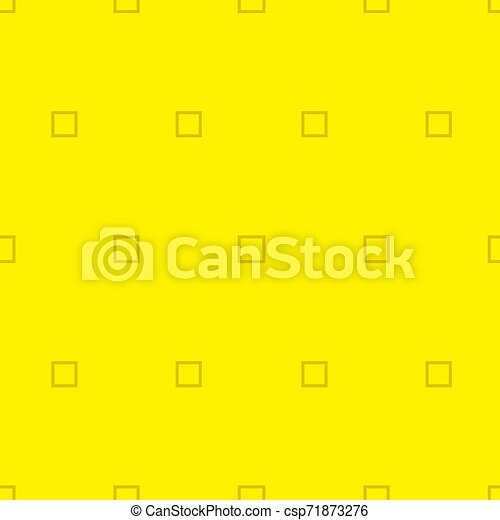 Simple yellow background with square. Vector Illustration. - csp71873276