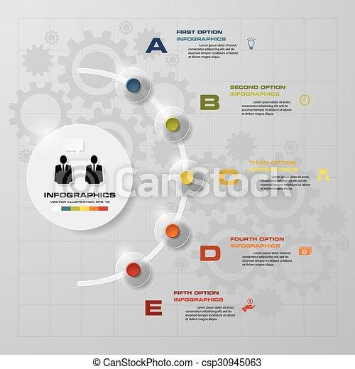Simpleeditable 5 steps chart diagrams templategraphic or website simpleeditable 5 steps chart diagrams templategraphic or website layout vector ccuart Choice Image