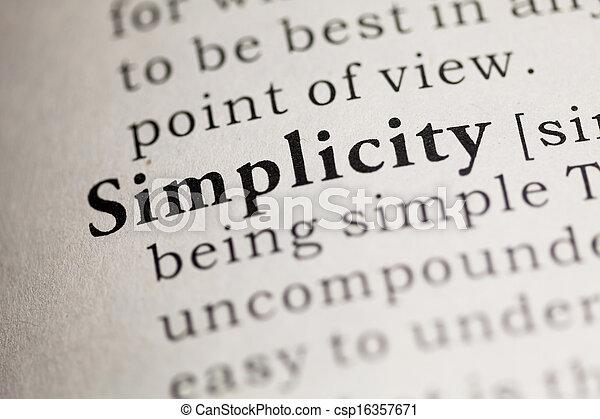 Simplicity - csp16357671