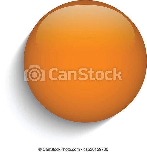 sinaasappel, glas, knoop, cirkel, achtergrond - csp20159700