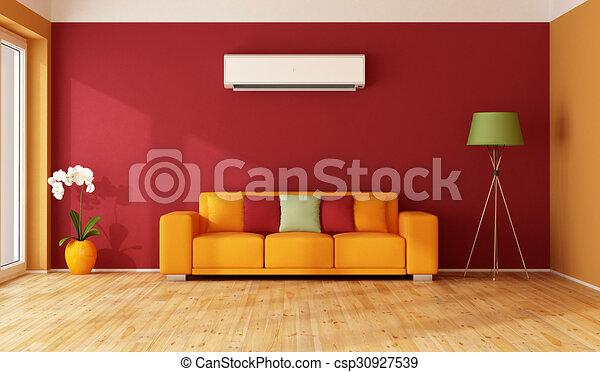 https://comps.canstockphoto.nl/sinaasappel-woonkamer-rood-tekeningen_csp30927539.jpg