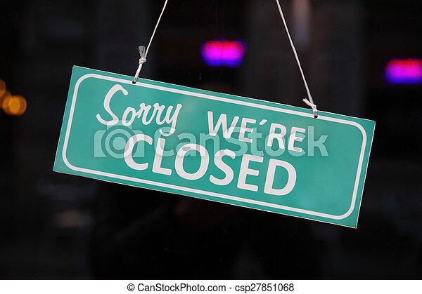 sinal fechado - csp27851068