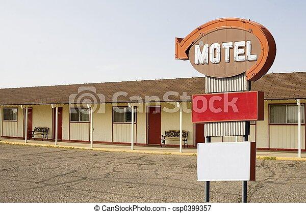 sinal motel - csp0399357