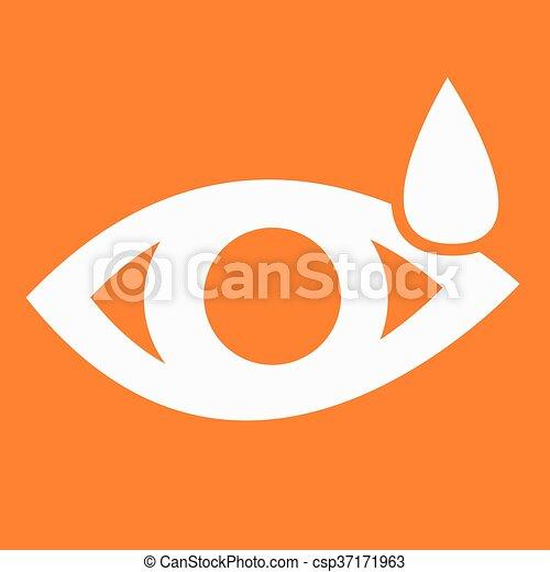 sinal, olho, ícone - csp37171963