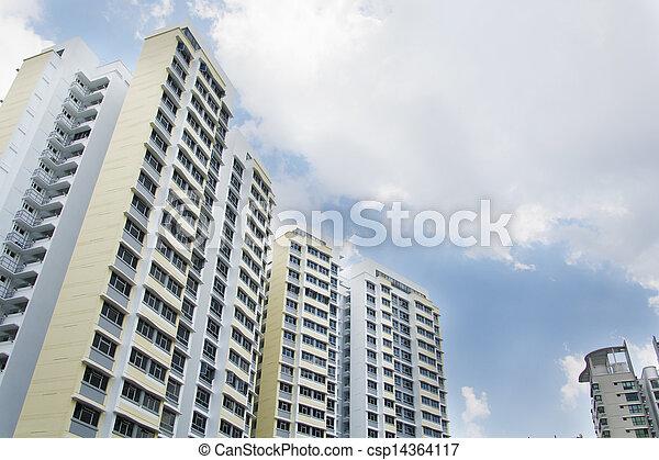 Singapore Government apartments - csp14364117