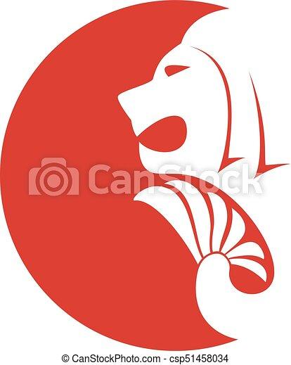 singapore lion icon