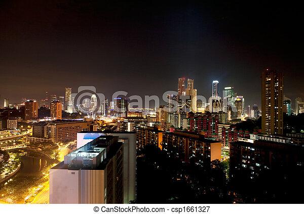 Singapore Night - csp1661327