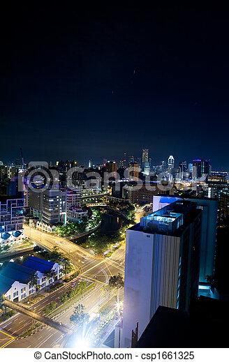 Singapore Night - csp1661325