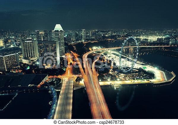 Singapur - csp24678733