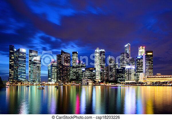 Singapur - csp18203226