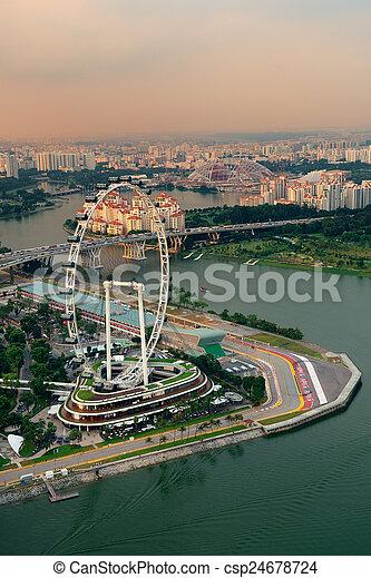 Singapur - csp24678724