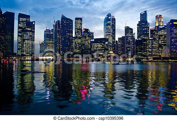 Singapur - csp10395396