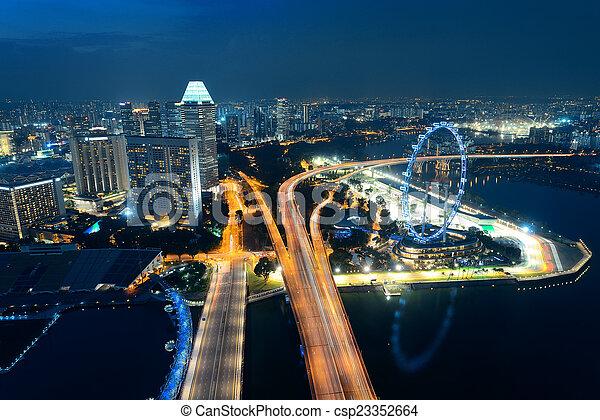 Singapur - csp23352664