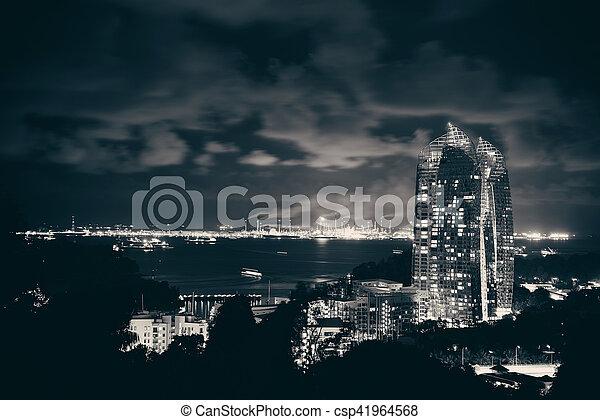Singapur - csp41964568