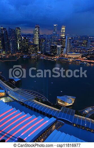Singapur - csp11816977