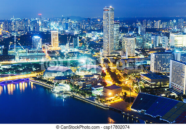 Singapur - csp17802074