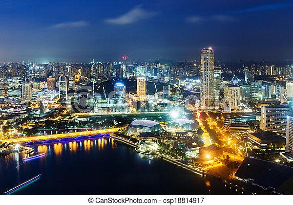 Singapur - csp18814917