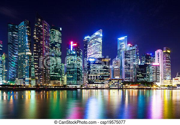 Singapur - csp19575077