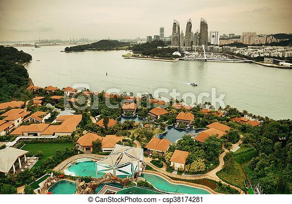 Singapur - csp38174281