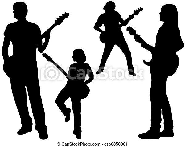 Singing Band - csp6850061
