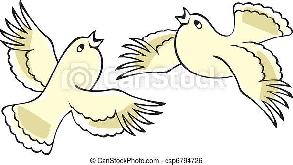 Singing birds. - csp6794726