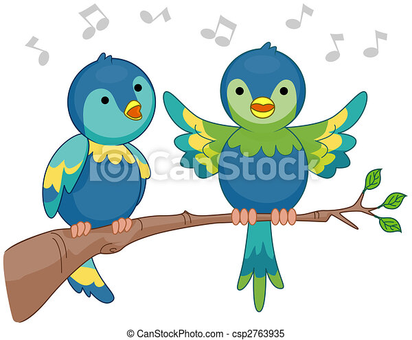 Singing Birds - csp2763935