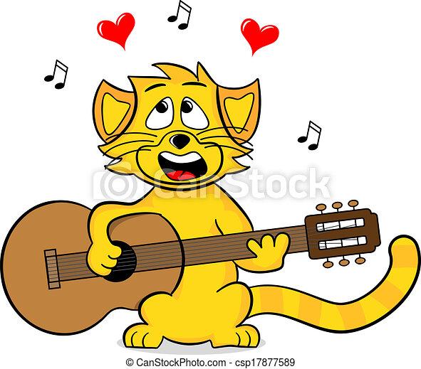 singing cat - csp17877589