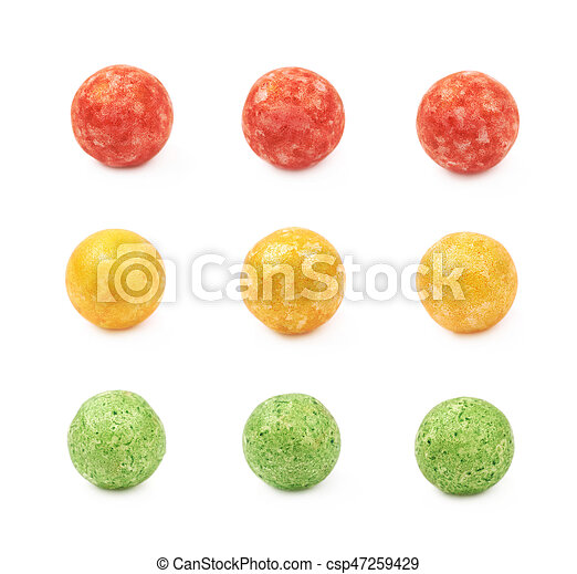 Single colored foam ball - csp47259429