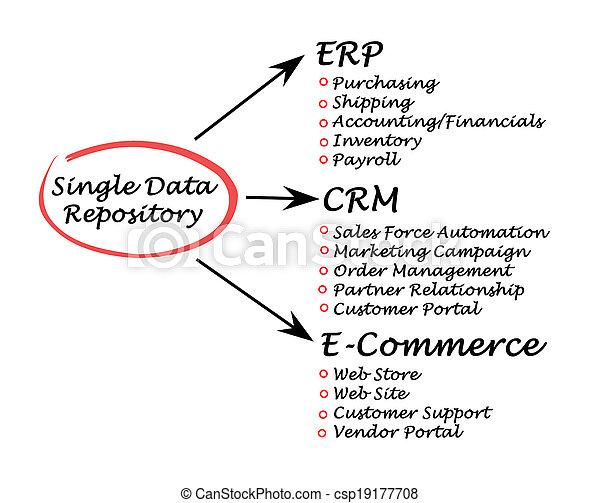 Single Data Repository - csp19177708