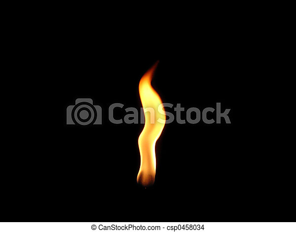 Single Flame - csp0458034