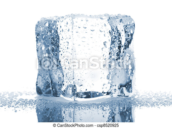latest design special section 100% genuine Single ice cube with water drops