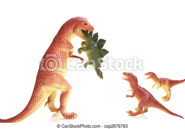 Single Parent Dinosaur - csp2876763