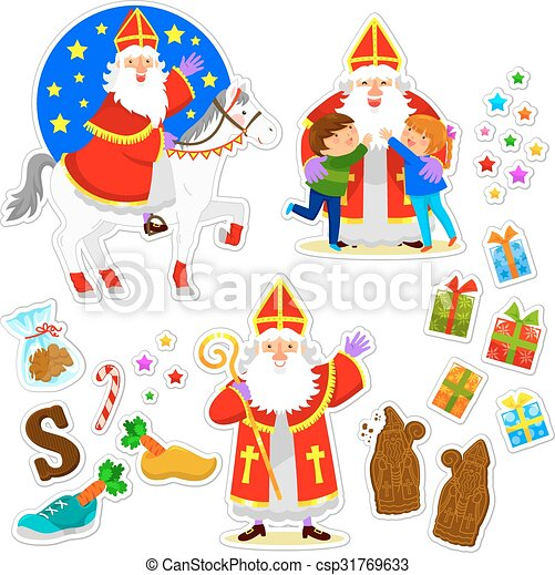 Sinterklaas collection - csp31769633