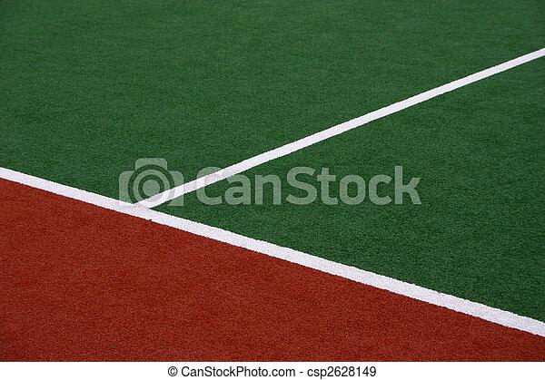 sintetico, hockey campo, sideline - csp2628149