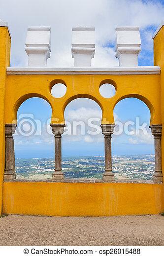 sintra, palacio, portugal, pena - csp26015488