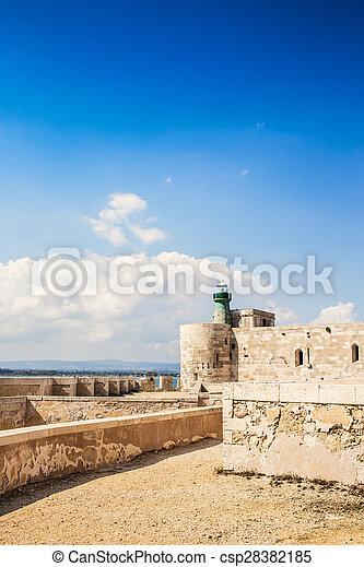 Siracusa castle - csp28382185