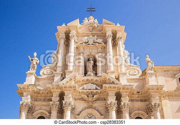 Siracusa cathedral - csp28383351