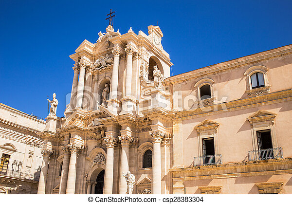 Siracusa cathedral - csp28383304