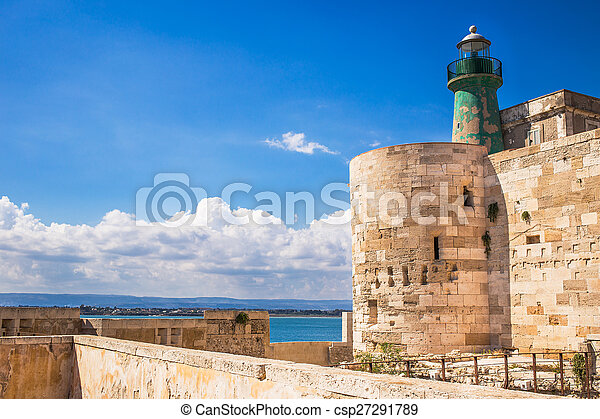 Siracusa fortress - csp27291789