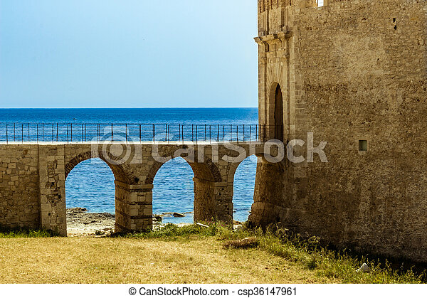 Siracusa in Sicily - csp36147961