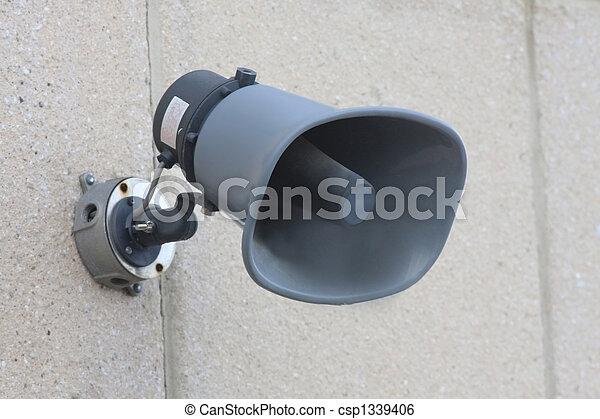 sirene, nødsituation - csp1339406