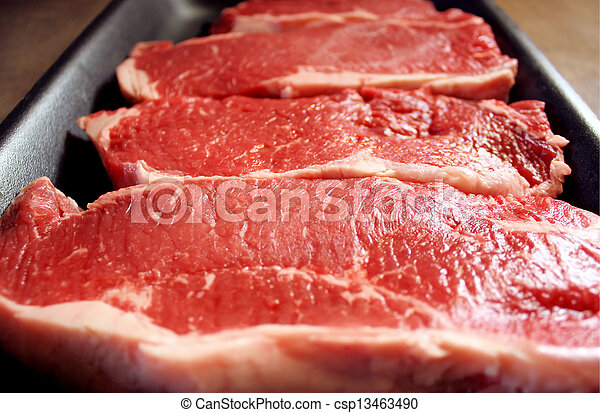 Sirloin Steaks - csp13463490